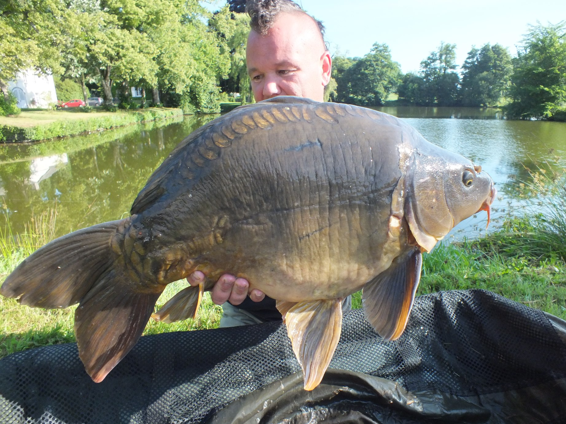 carp fishing normandy france