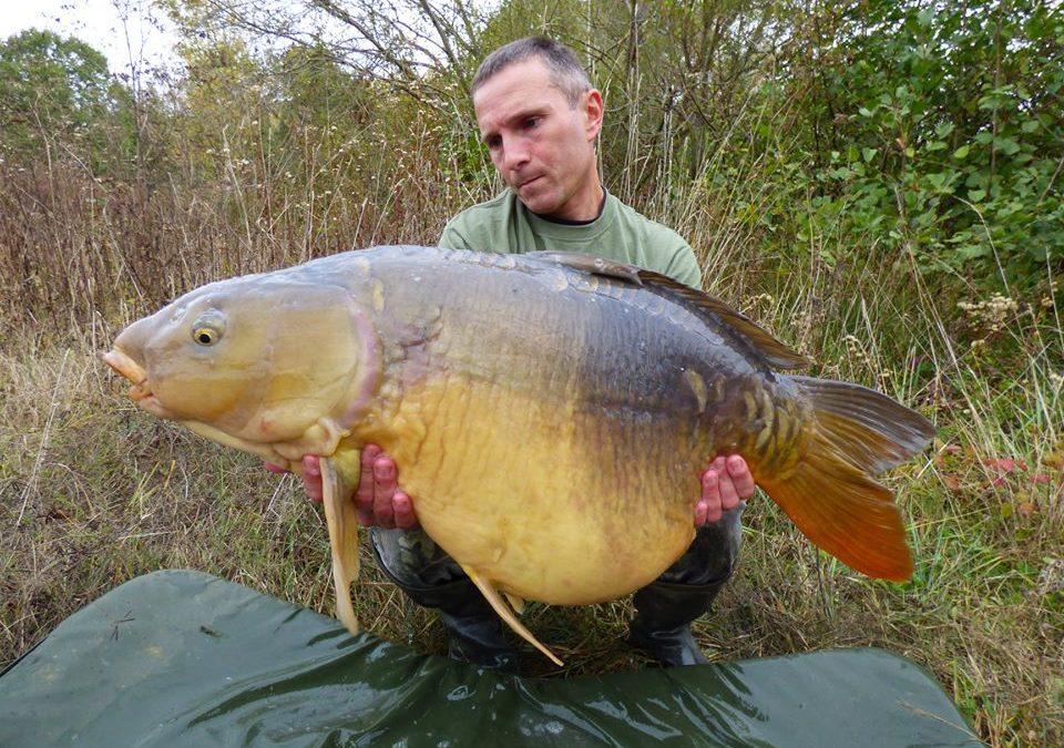 Catch report Cheshire lake