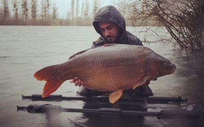 Average catch 44lbs : promising !!