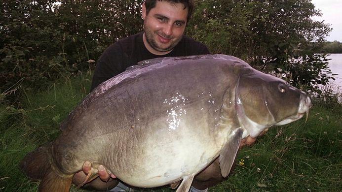 Catching Giant carp