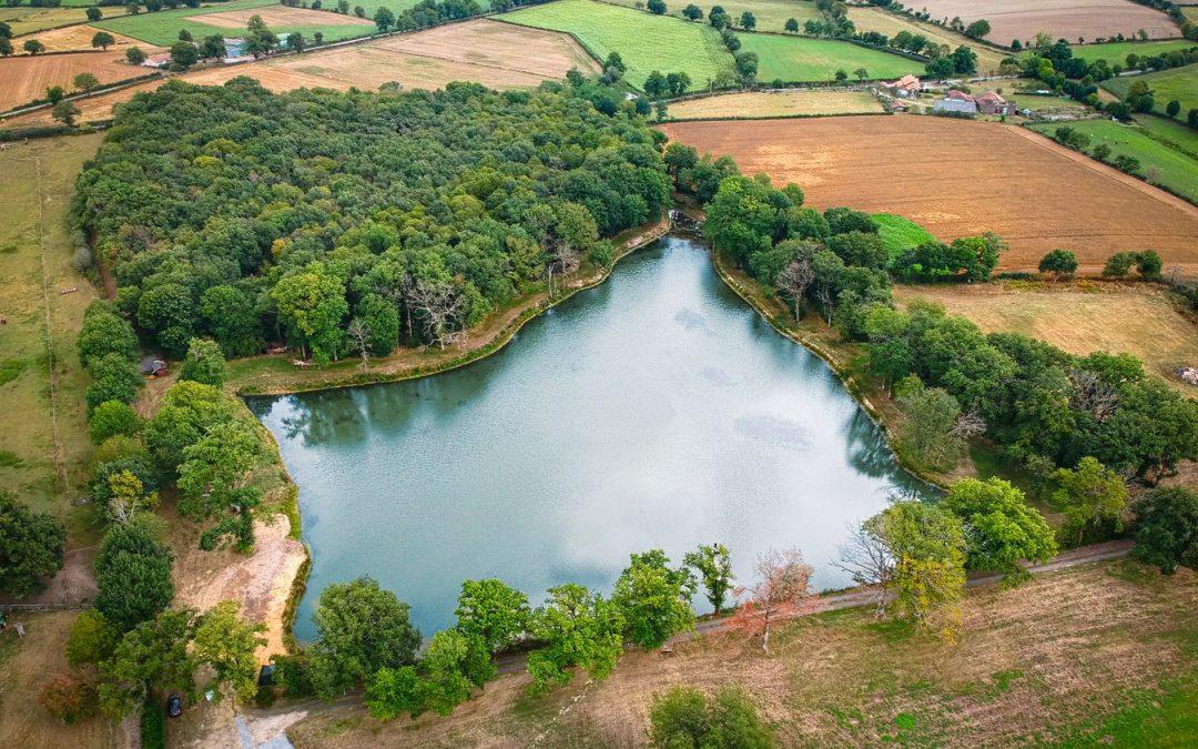 New lake …